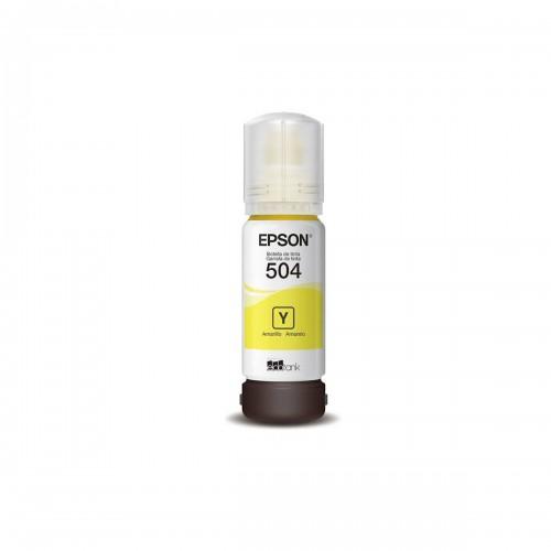 TINTA EPSON T504420AL T504420 T504 AMARELO | L4150 L4160 L6191 L6161 L6171 | ORIGINAL 70ML