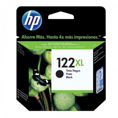 CARTUCHO DE TINTA HP 122XL 122 CH563HB PRETO   ORIGINAL 8ML