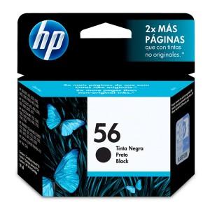 CARTUCHO DE TINTA HP 56 | C6656AB | PRETO | ORIGINAL HP | 19 ML