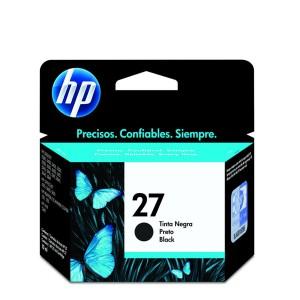 CARTUCHO DE TINTA HP 27 | C8727A, C8727AB | PRETO | ORIGINAL HP | 10 ML