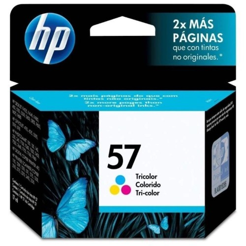 Cartucho HP 57 18ml Tricolor Original C6657AB