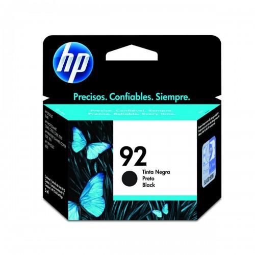 CARTUCHO DE TINTA HP 92   C9362WB   PRETO   ORIGINAL HP   5ML