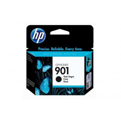 Cartucho de Tinta HP 901 CC653AB Preto | J4540 J4550 J4580 J4660 | Original 4,5 ml
