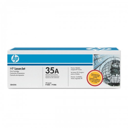 TONER HP CB435A 35A 435A CB435AB | LASERJET P1005 LASERJET P1006 | ORIGINAL 1.500 PÁGINAS