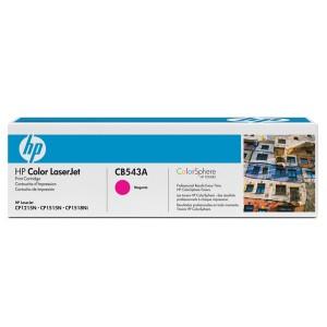 TONER HP CB543A CB543AB 125A MAGENTA | CP1518 CP1515 CP1215 CM1312 | ORIGINAL